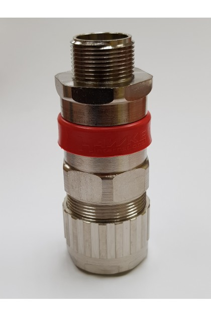 M25 Size B - Hawke ICG/653/UNIV/B/M25 Brass Nickel Plated Barrier Cable Gland