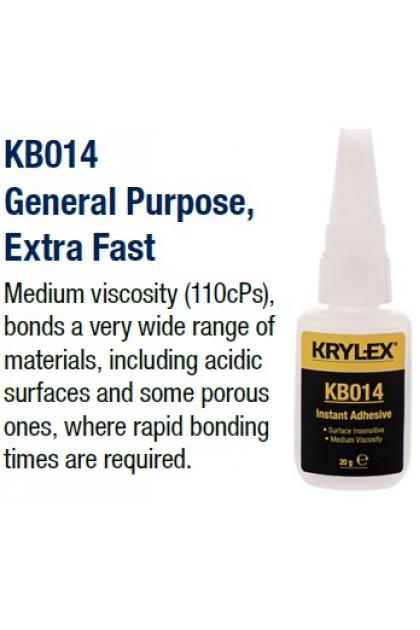KRYLEX KB014 Cyanoacrylate Instant Adhesive