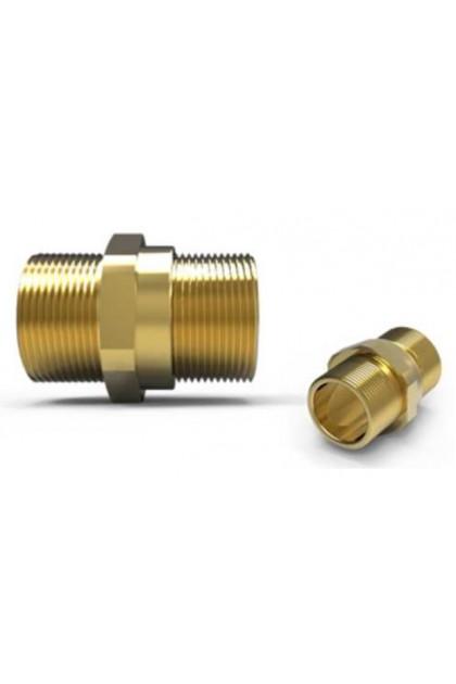 "1/2"" Nipple - Hawke 479 Inline Adapter (Male to Male) 1/2""NPT(M) X 1/2""NPT(M)"
