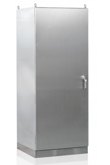 Hoffman FS66S SS316 IP66 Floor Stand Panel, Front & Rear Access (2mm thickness)